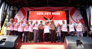 Aher dan 1800 Komunitas Otomotif Deklarasikan Anti Hoax dan Radikalisme