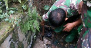 Satgas Citarum Tutup Saluran Limbah Pabrik PT. Mewah Niaga Jaya
