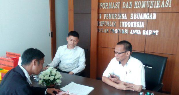 Kawal Borok Korupsi RSUD Waled, Lembaga Ini Datangi BPK