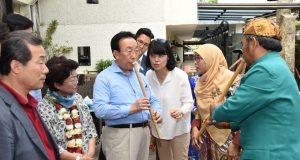 Kunjungi Dekranasda, Gubernur Gyeongsangbuk-do Kagumi Kriya Jabar