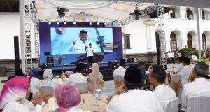 Buka Puasa Bersama, Aher Pamit ke Seluruh ASN Jawa Barat