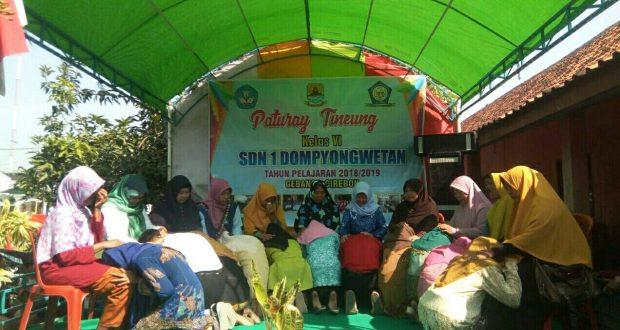 'Paturay Tineung' Siswa SDN 1 Dompyong Wetan