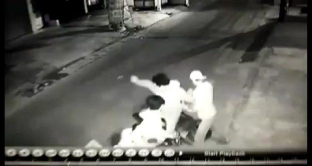 Begal Yang Viral di CCTV Akhirnya Tertangkap