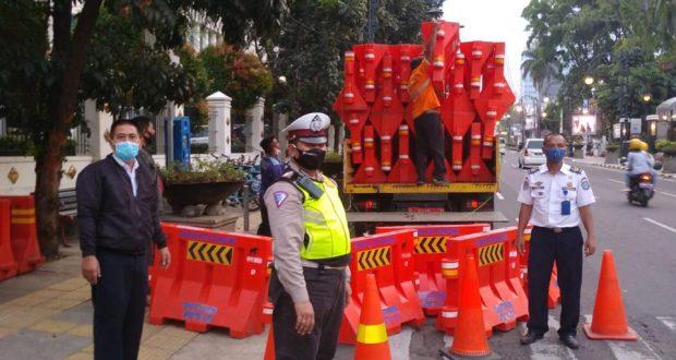 Jalan Kota Bandung Ditutup